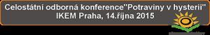 celostátní konference 2015